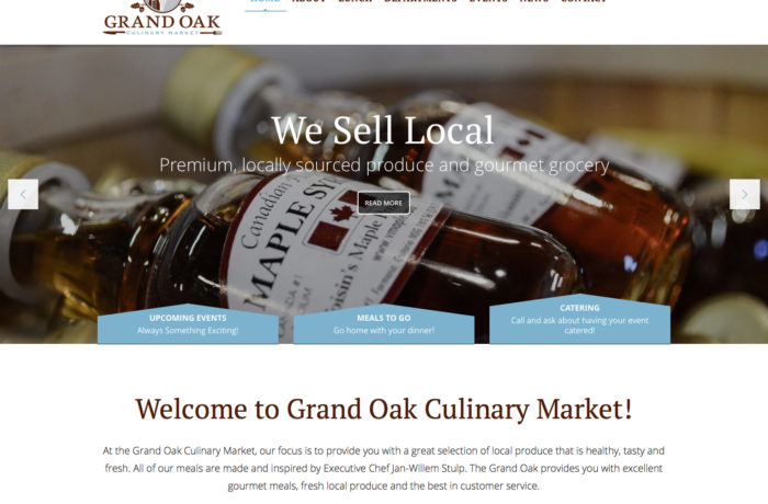Grand Oak Culinary Market
