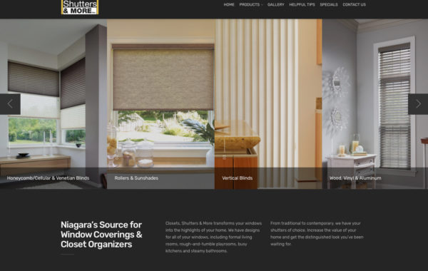 Closets, Shutters & More