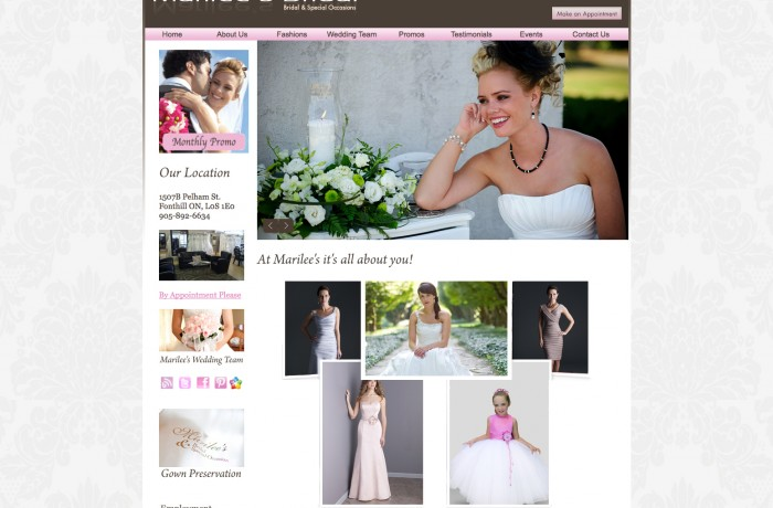 Marilee's Bridal & Special Occasions