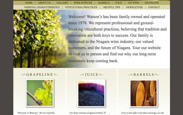 Watson's Vineyards