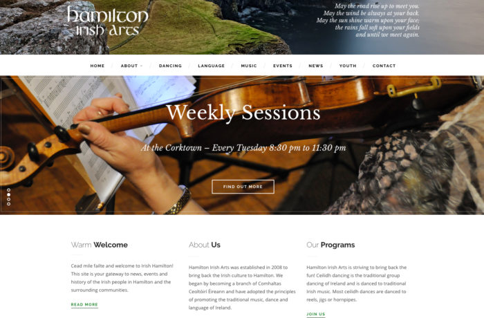 Hamilton Irish Arts
