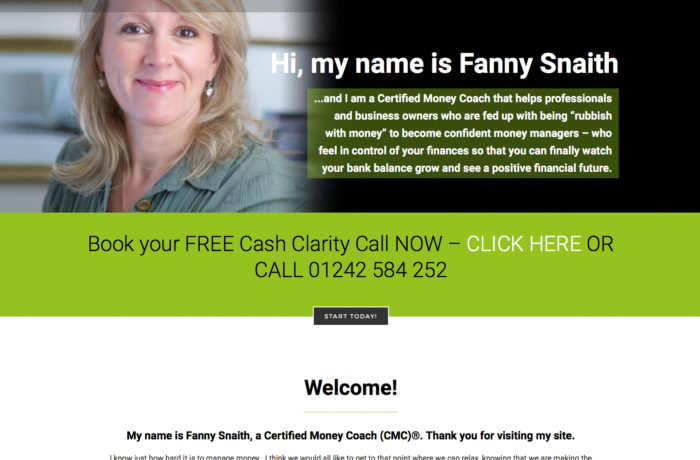 Fanny Snaith, Certified Money Coach (CMC)®