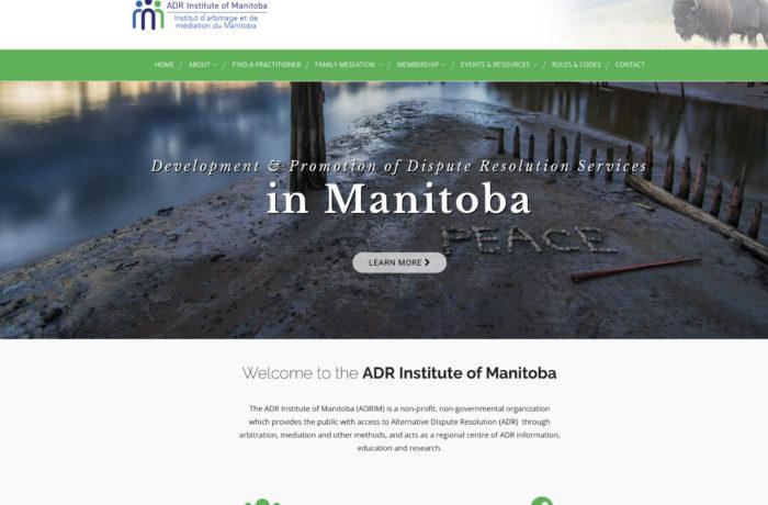 ADR Institute of Manitoba